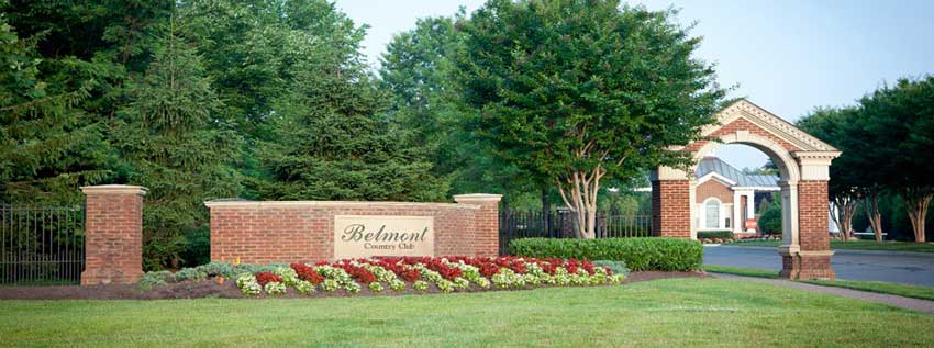 Belmont Country Club VA Lawn Care